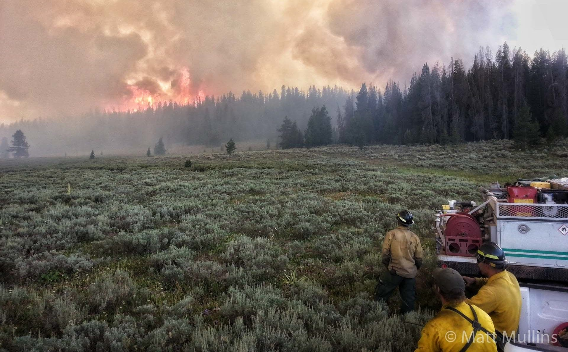 Wyoming Wildland Fire