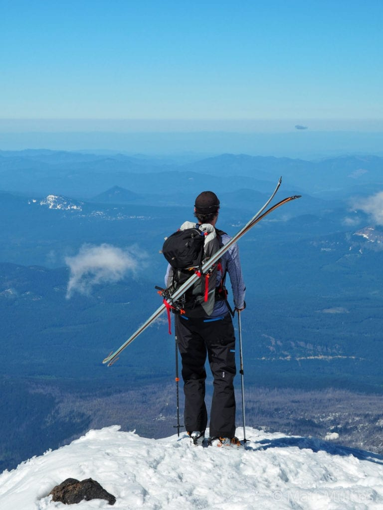 Matt Mullins on Mt. Adams with CiloGear 45L