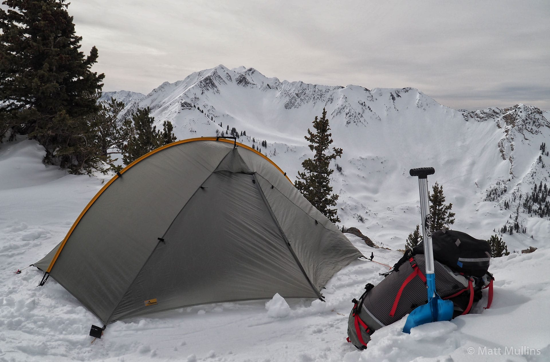 Tarptent Double Rainbow in the Wasatch Mountains.