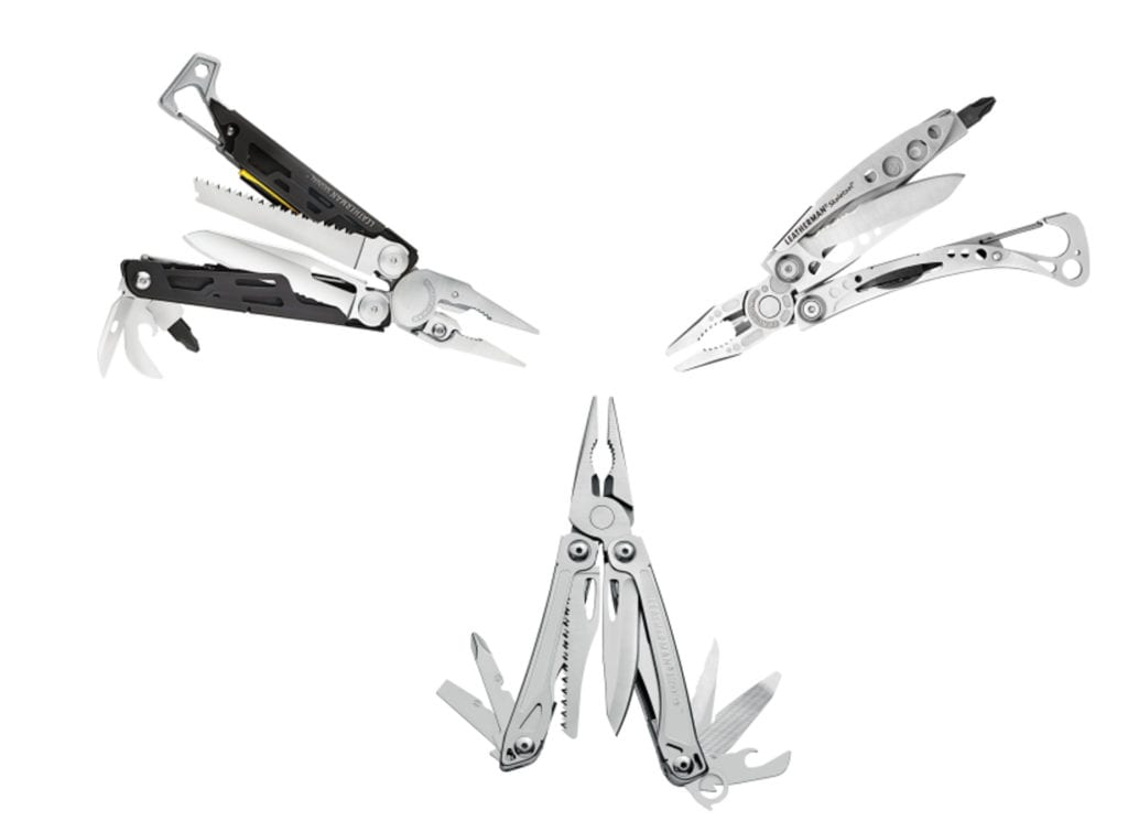 3 Leatherman Multi Tools