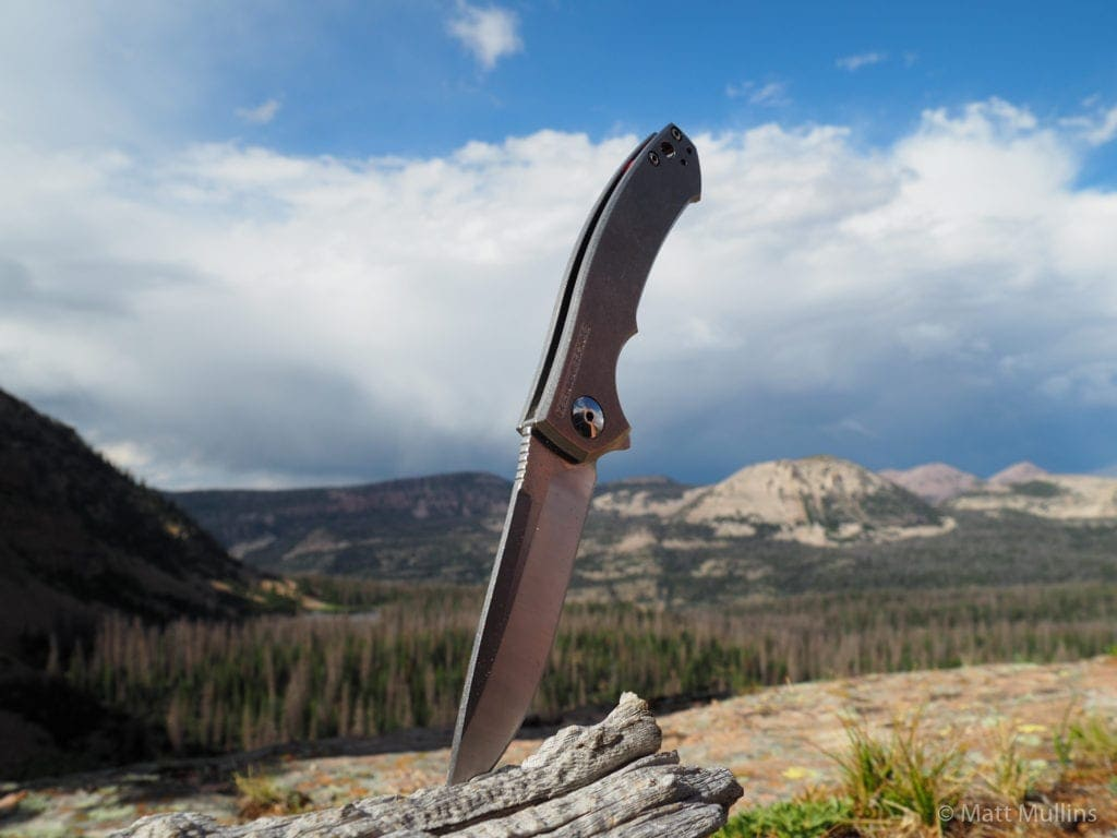 ZT 0450 Knife in the Uinta Mtns