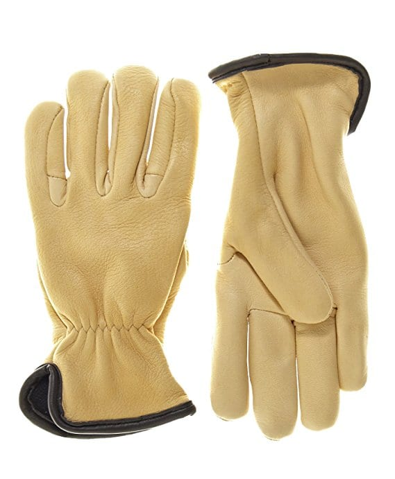 Geier Glove Men's Merino Wool Lined Deerskin Gloves