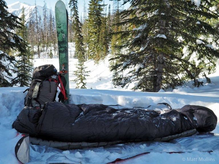 Winter Ski Camping in Canada