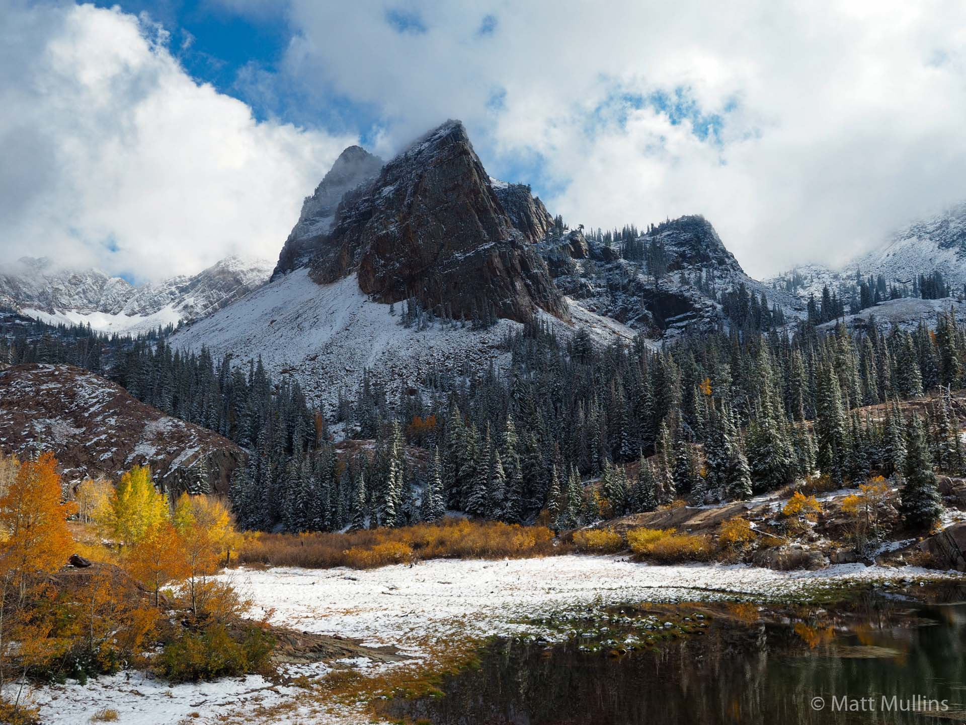 Lake Blanche in Fall, Wasatch