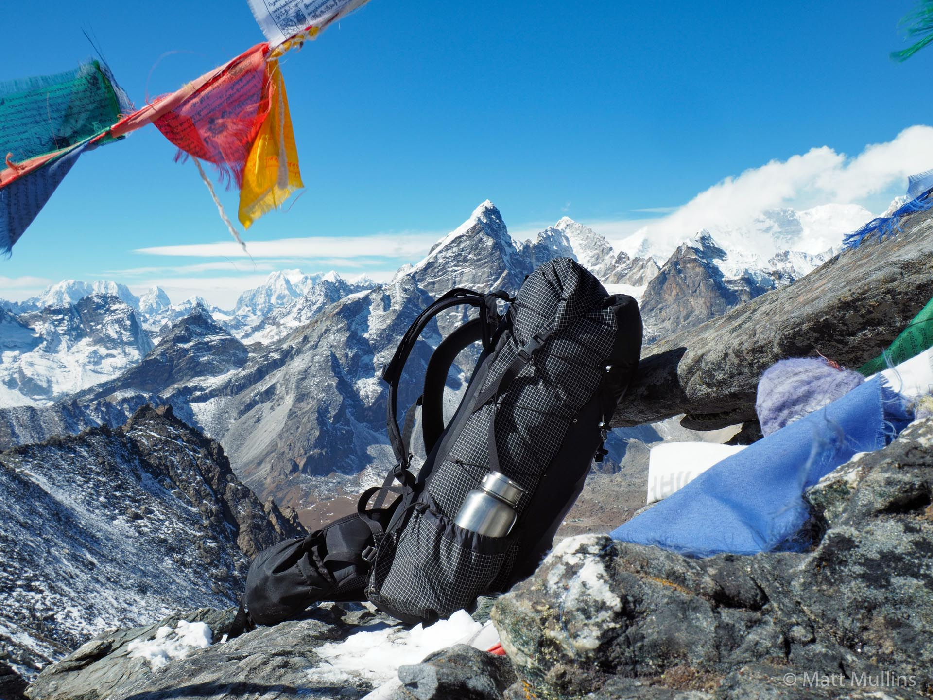 ULA Ohm 2.0 Backpack on Kongma La Pass, Nepal