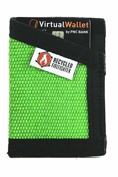 Slim Minimalist Wallet by Recycled Firefighter