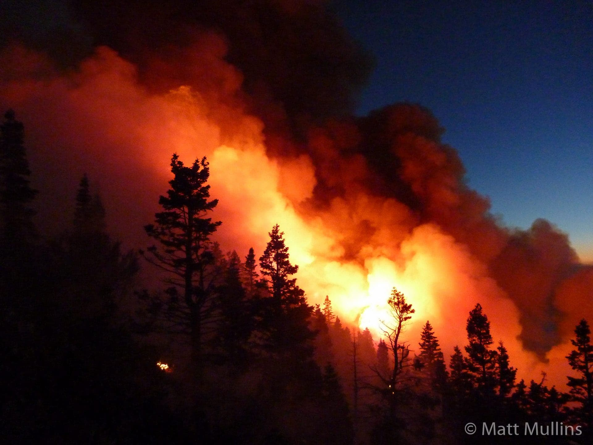Twitchell Canyon Wildland Fire