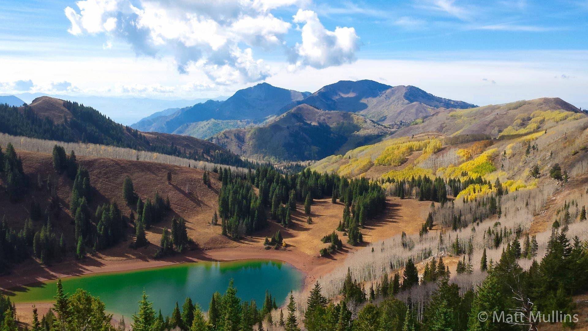 Lake Desolation in Fall, Wasatch Mountains, UT