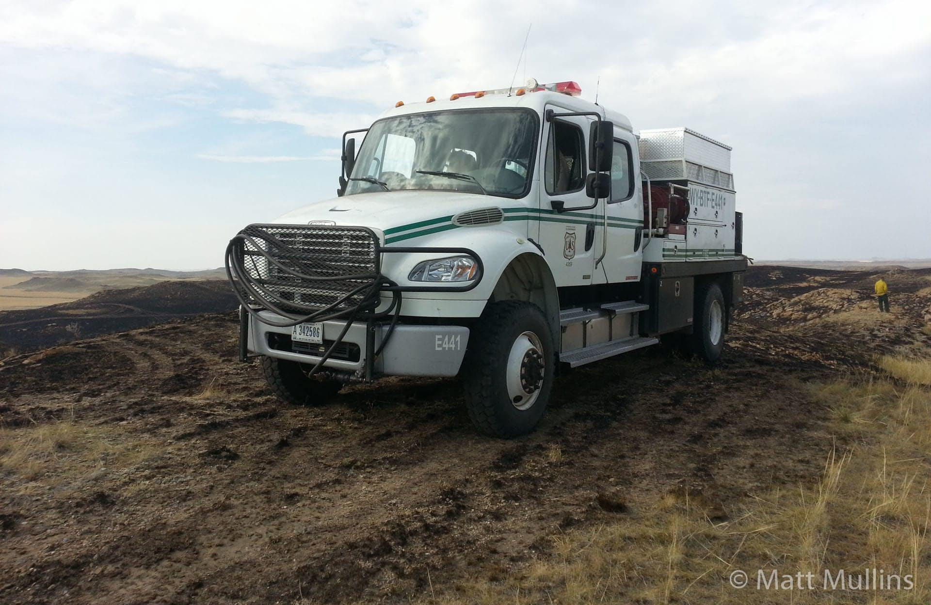 Forest Service Type 4 Fire Engine