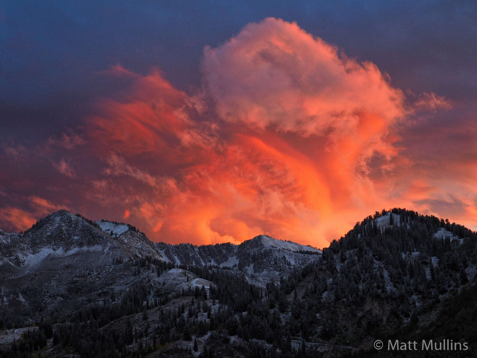 Wasatch Mountains Sunset