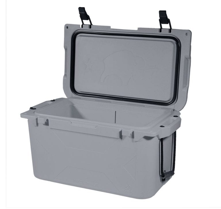 Bison Cooler 50 qt Gray