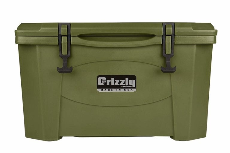 Grizzly 40 qt olive drab green
