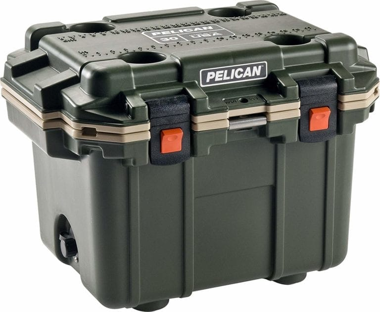 Pelican Elite 30 qt. Cooler Green