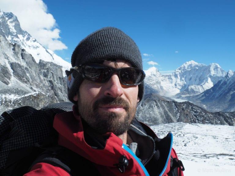 Matt Mullins on Kongma La Pass, Nepal