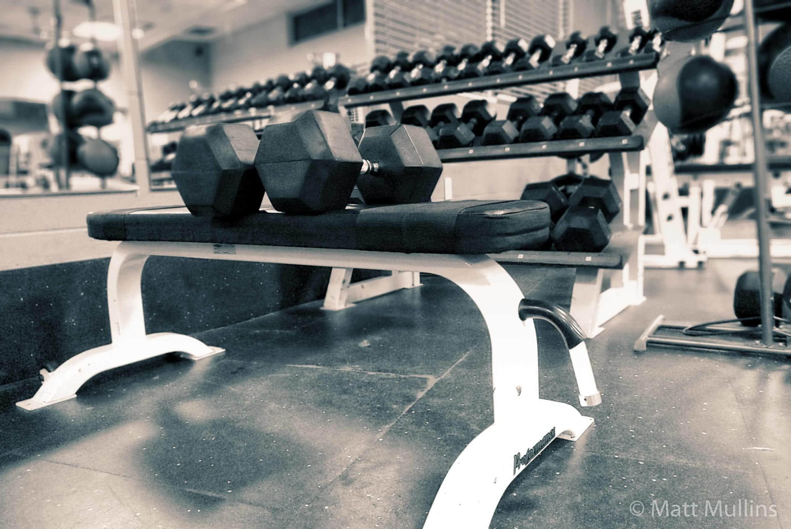 TuffStuff Proformance Flat Workout Bench