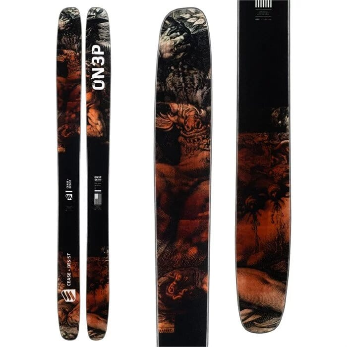 ON3P Cease and Desist Skis