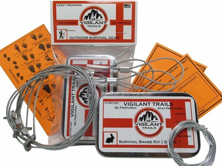 Vigilant Trails Pocket Survival Snares