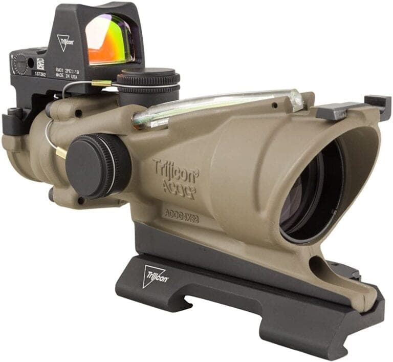 Trijicon ACOG scope with RMR made in the USA