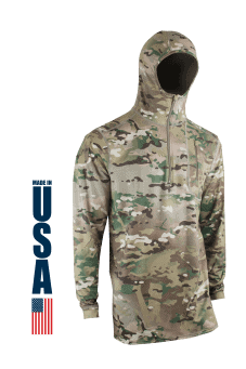XGO Multicam Base Layer Hoodie Softshell Made in the USA