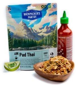 Backpacker's Pantry Pad Thai Meal