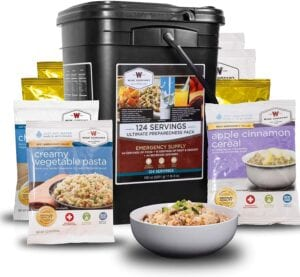 Wise Company 124-Serving Ultimate Preparedness Pack