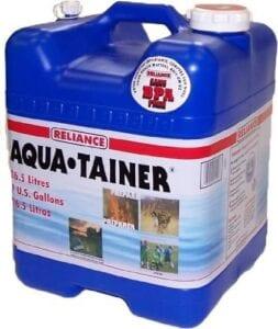 Aquatainer 7 gallon