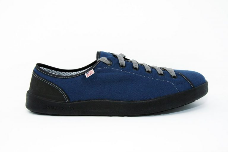 SOM Navy Blue Classic Minimalist Shoe Made in the USA