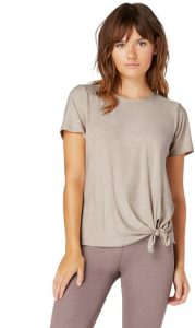 Beyond Yoga Women's All for Ties T-shirt made in USA