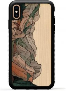 Carved iPhone Xs Max Wood Phone Case made in USA
