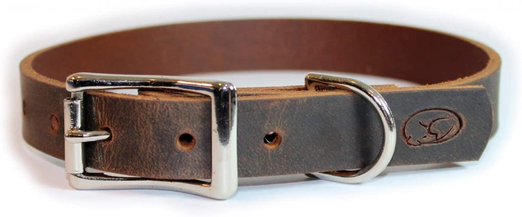 Leather Dog Collar Made in the USA