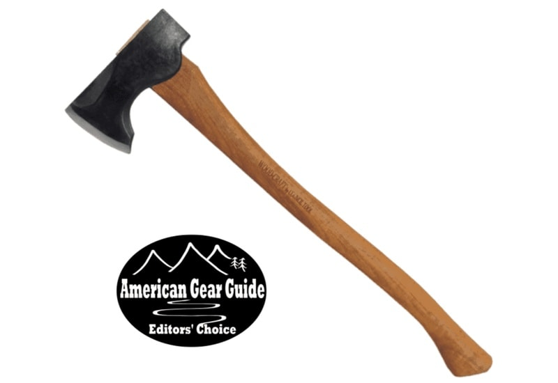 Council Tool Woodcraft Axe Editor's Choice Made in the USA