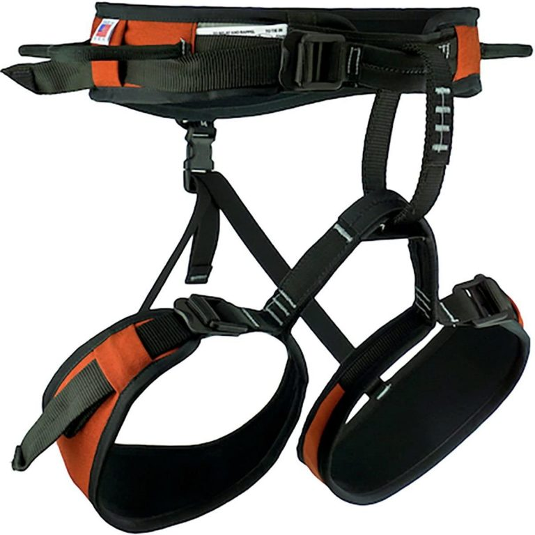 Misty Mountain Intrepid Climbing Harness made in the USA