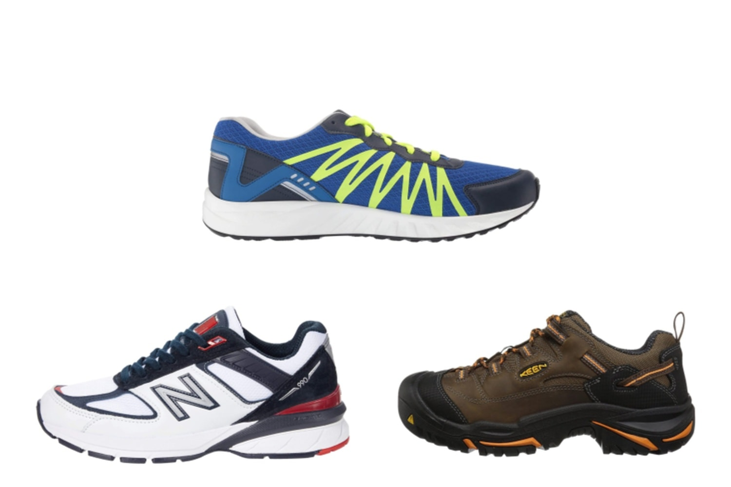 Athletic Running Shoes made in the USA