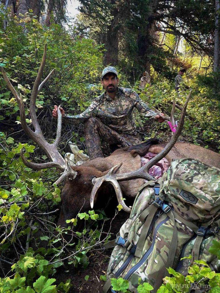 Matt Mullins Elk Bowhunting