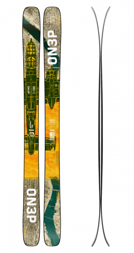 2021 ON3P Jeffrey 108 Skis Made in USA
