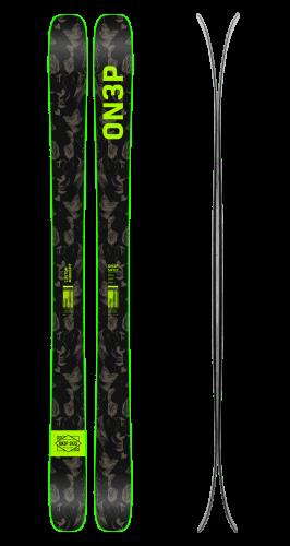 Jeffrey 110 skis